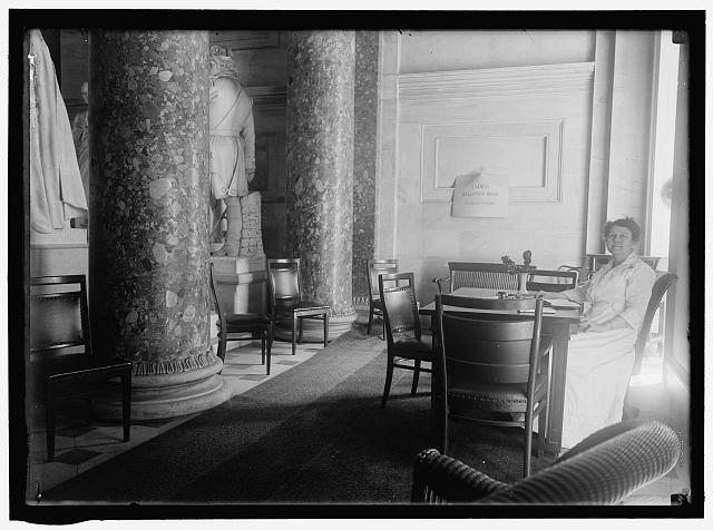 CAPITOL, U.S. LADIES' RECEPTION ROOM