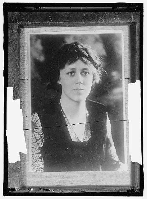 [Woman Suffrage (Misc. individual suffragettes). Miss Doris Stevens, youngest member of the national executive committee of the National Woman's Party, was arrested and sentenced to 60 days at the Occoquan ...]