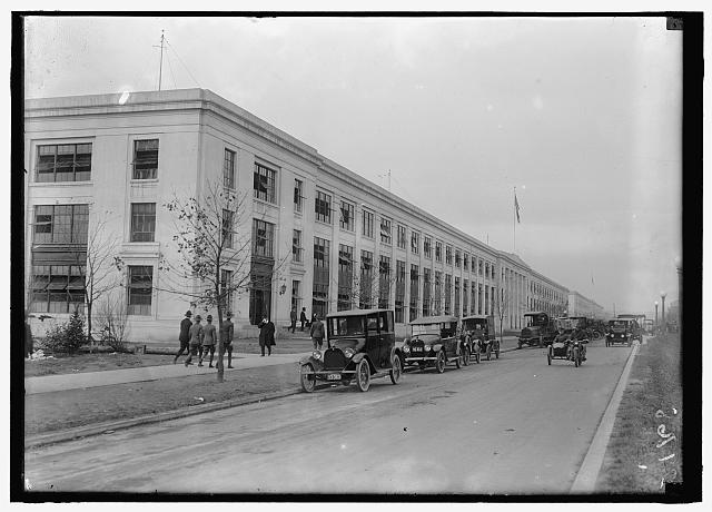 NAVY DEPARTMENT, U.S. NAVY BUILDING, 17TH AND B STREETS, N.W.