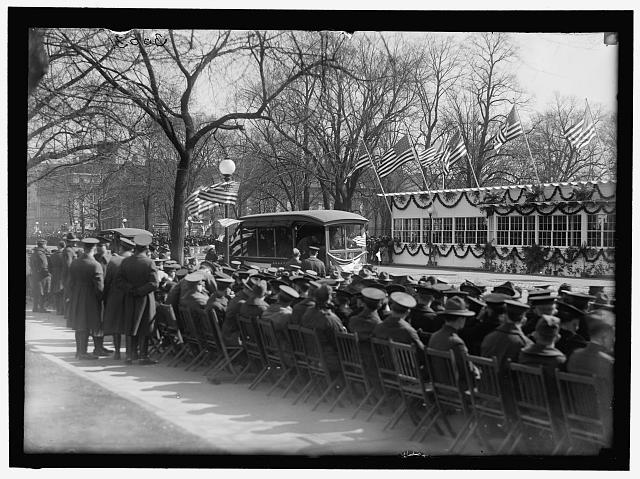 PARADES. WELCOME HOME PARADE FOR PRESIDENT WILSON