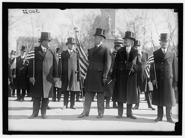 PARADES. WELCOME HOME PARADE FOR PRESIDENT WILSON.