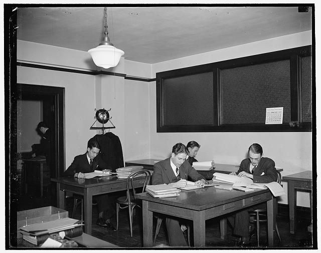 The public reference room at S.E.C.
