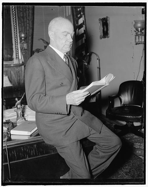 Mentioned for Supreme Court vacancy. Washington, D.C., Jan. 7. Rep. Hatton Sumner, Democrat of Texas and Chairman of the House Judiciary Committee, is being mentioned prominently as the successor to Justice George Sutherland when he retires from the Supreme Court bench on January 18, 1/7/38