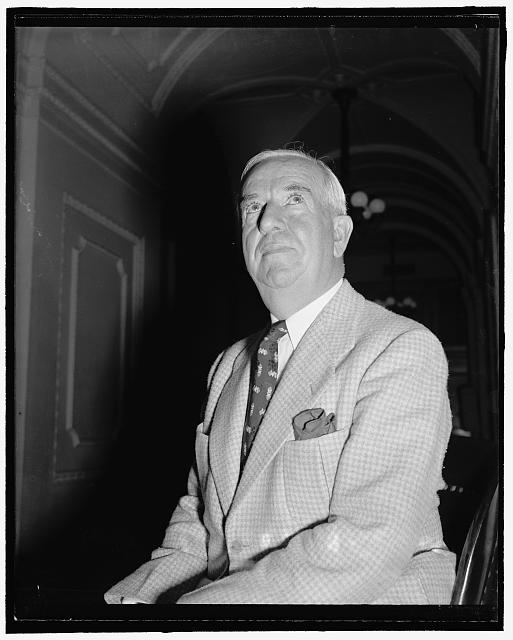 New Mexico Solon. Washington, D.C., July 25. A new informal picture of Rep. John J. Dempsey, congressman-at-large from New Mexico, 7/25/39