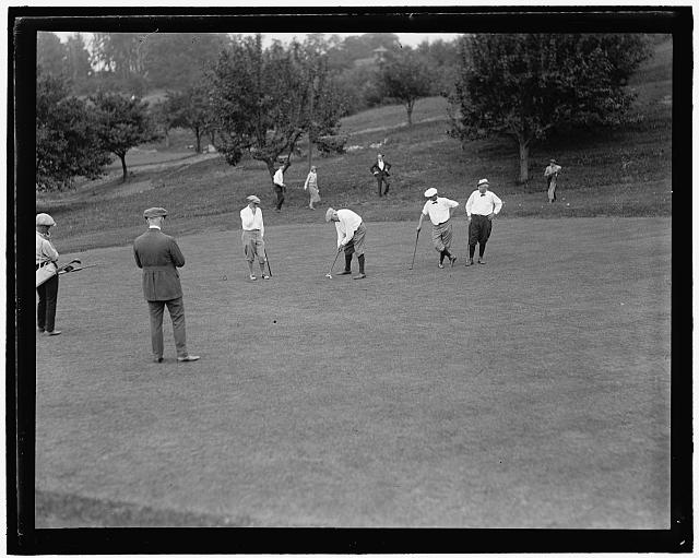 Washington newspaper golf, May 27