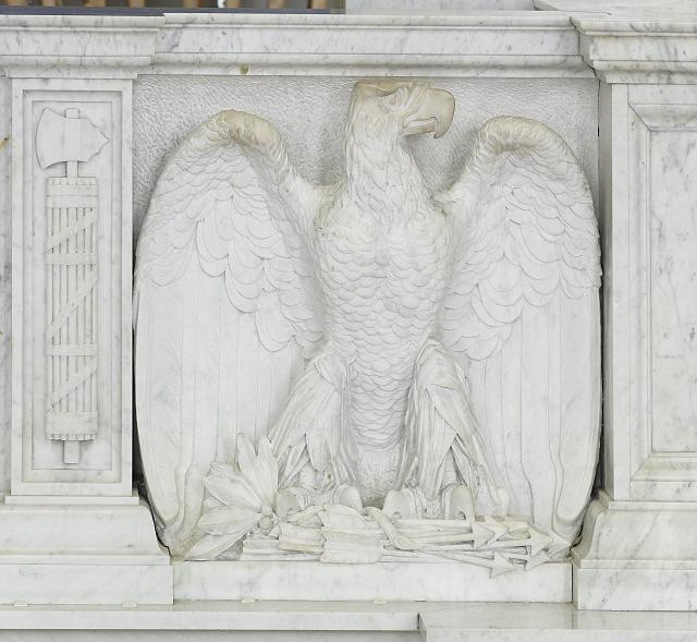 [Great Hall. Detail of eagle carving. Library of Congress Thomas Jefferson Building, Washington, D.C.]