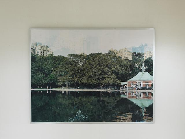 "Photograph ""Conservatory Pond"" at Federal Office Building, New York, New York"