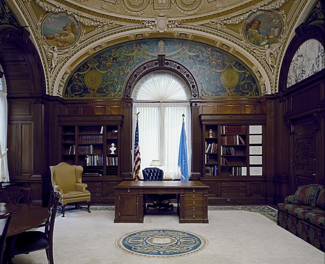 [Librarian's Room. Library of Congress Thomas Jefferson Building, Washington, D.C.]