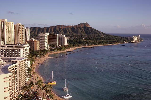Skyline, Honolulu, Oahu, Hawaii