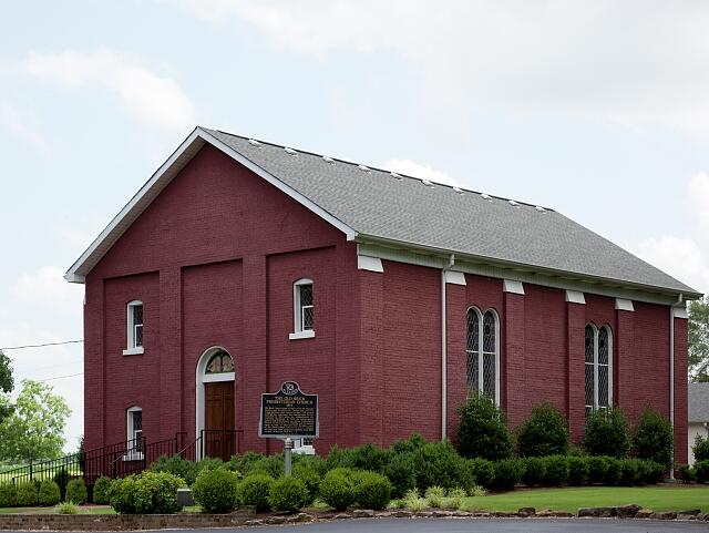 Old Brick Presbyterian Church, 260 Mount Pleasant Road, Muscle Shoals, Alabama