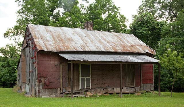 Historic buildings located in in the town of Oak Hill, Alabama