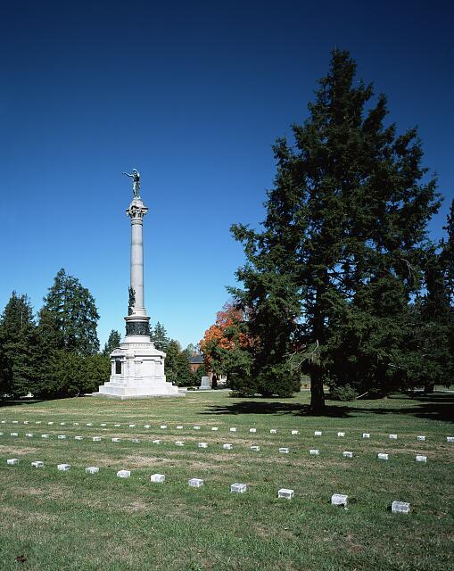 New York Monument, Gettysburg National Military Park, Gettysburg, Pennsylvania
