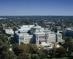 Library of Congress's Thomas Jefferson Building taken from the dome of the U.S. Capitol, Washington, D.C.