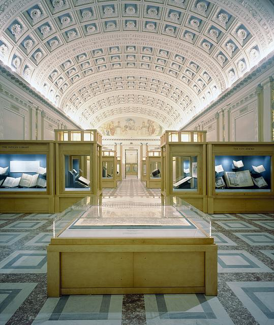 [Exhibit hall, Library of Congress, Thomas Jefferson Building, Washington, D.C.]