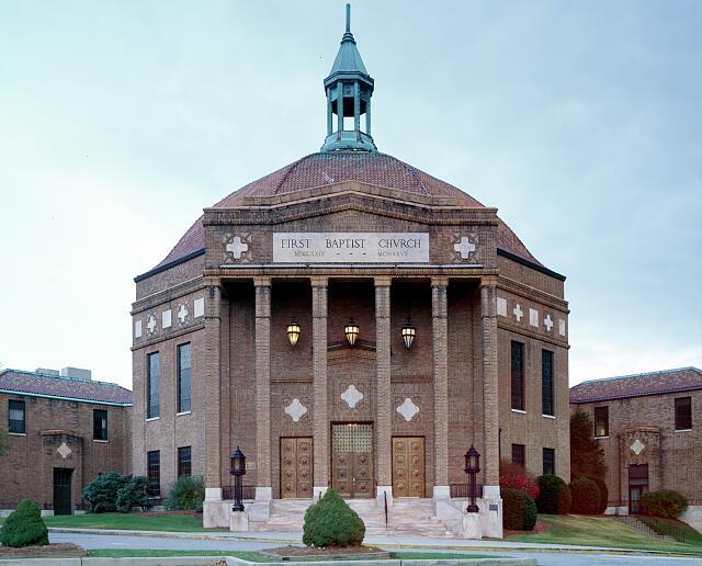 First Baptist church in Asheville, North Carolina