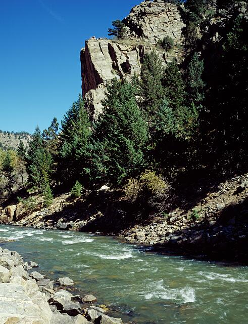 Clear Creek Canyon, near Central City in Colorado's Rocky Mountains