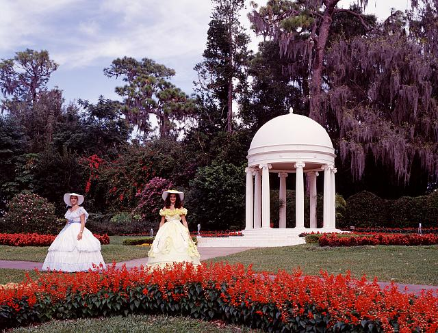Belles at Cypress Gardens theme park, Winter Haven, Florida