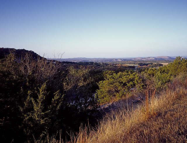 The Enchanted Rock State Natural Area, near Fredericksburg in Texas Hill County is one of Texans' favorite hiking areas