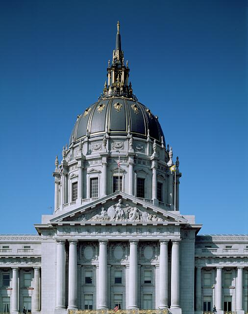 San Francisco City Hall, completed in 1915, San Francisco, California