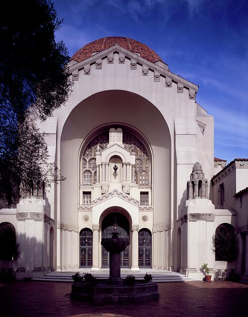 Temple Emanu-El, dedicated in 1926, San Francisco, California