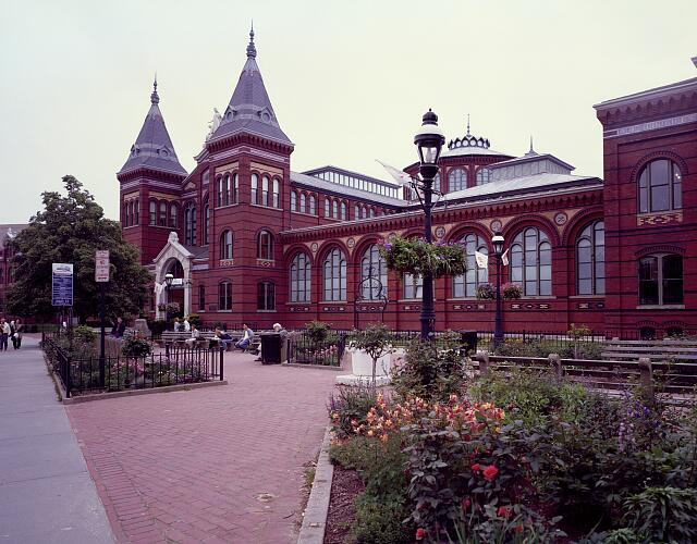 Smithsonian Institution's Arts and Industries building, Washington, D.C.