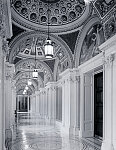 Hallway of the Library of Congress's Thomas Jefferson Building, Washington, D.C.