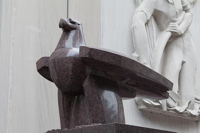 "Sculpture ""Eagle,"" by Gifford MacGregor Proctor at the F. Edward Hebert Federal Building in New Orleans, Louisiana"