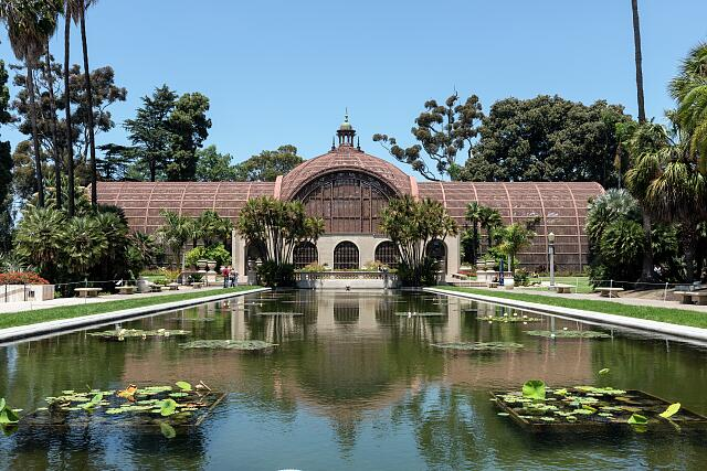The Botanical Building located in Balboa Park, San Diego, California