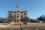 The Shackelford County Courthouse in Albany, Texas