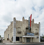 The Garmon Theatre, which opened in the 1940s and closed three decades later in Rio Grande City, Texas, became a home-furnishing store among other uses