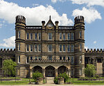 The West Virginia State Penitentiary, a retired, gothic-style prison in Moundsville, West Virginia, that operated from 1876 to 1995