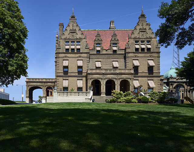 The Pabst Mansion, one of Milwaukee, Wisconsin's most notable landmarks