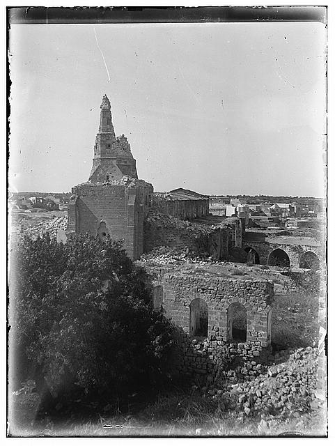 [Gaza, the Great Mosque from the east]