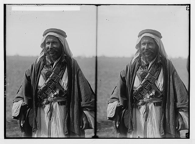 Sir Herbert Samuel's second visit to Transjordan, etc. Bedouin of the Beni Hassan tribe.