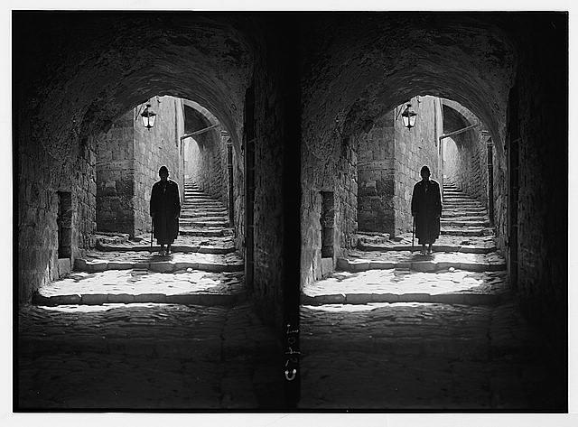 Street in Jewish quarter, Jer. [i.e., Jerusalem] (Necodineus).