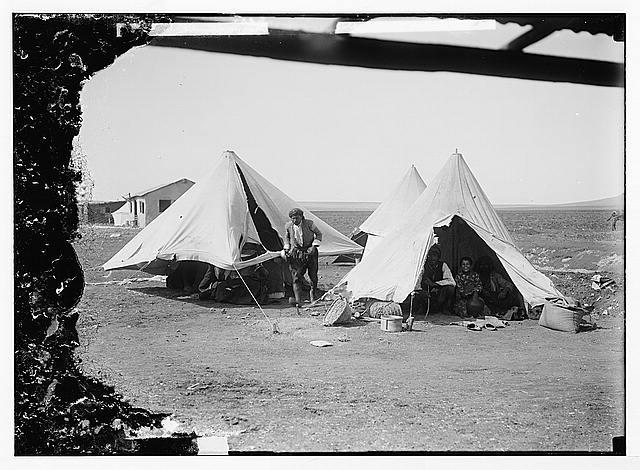 German Baghdad Railway, 190_. Tents of the Arabs