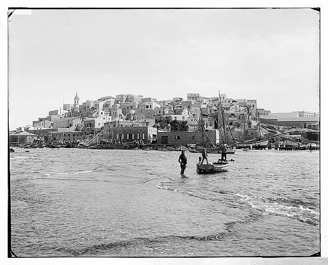 Jaffa (Joppa) and environs. The landing place