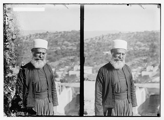 Costumes, characters, etc. Druse [i.e., Druze] sheikh