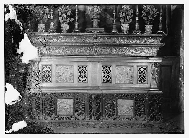 Altar at 11th Station of the Cross in Church of Holy Sepulchre?