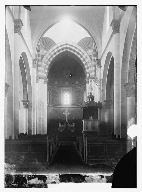 [Interior of the Lutheran Church of the Redeemer, Jerusalem]