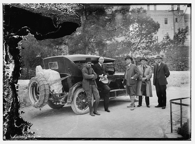 5 men with new Dodge