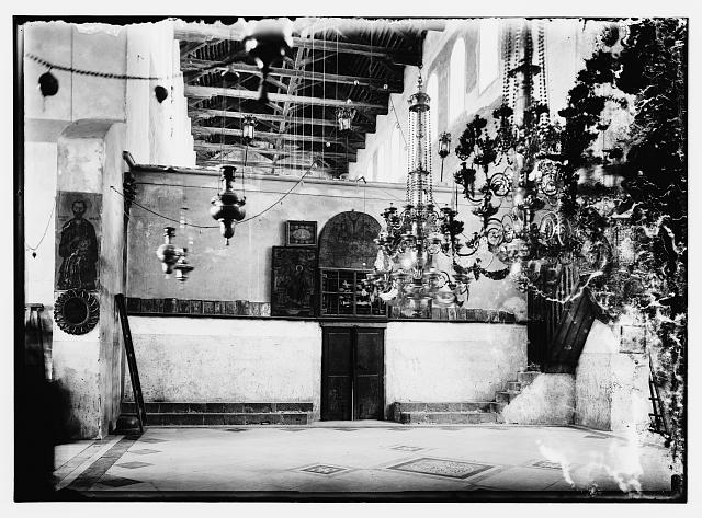 Int. Ch. of Nat. [i.e., interior of the Church of the Nativity]