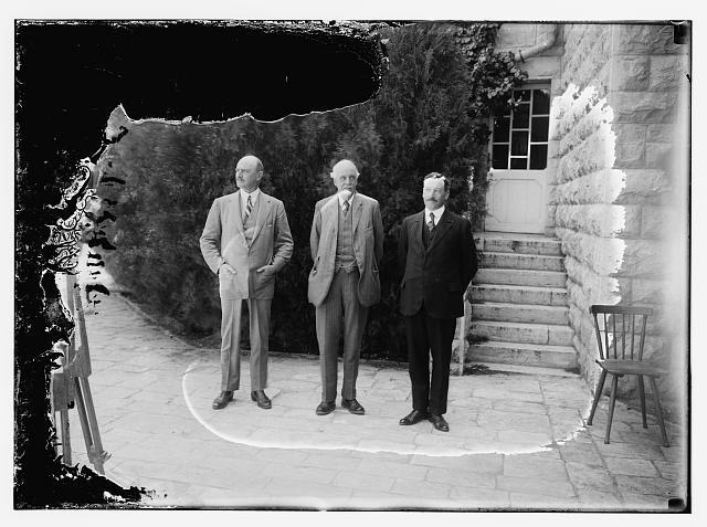 Balfour, Allenby & Samuel