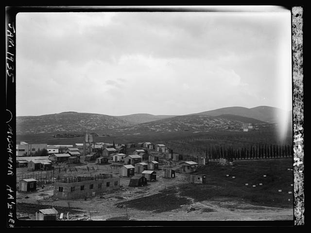 Jewish colonies. Mischmar Ha ʻEmek