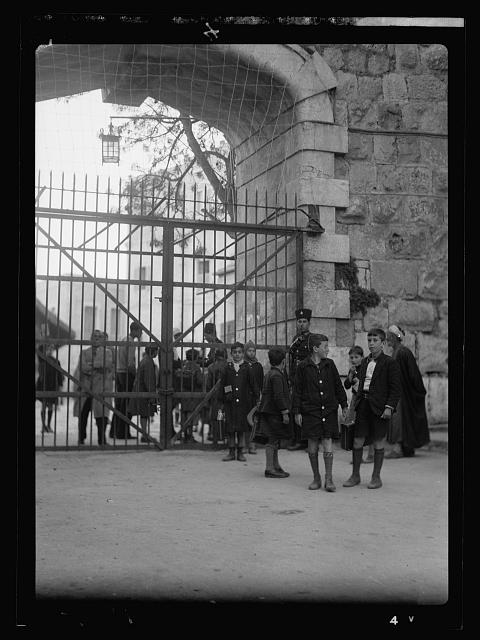 Disturbance 1938. New Gate closed with bar gate
