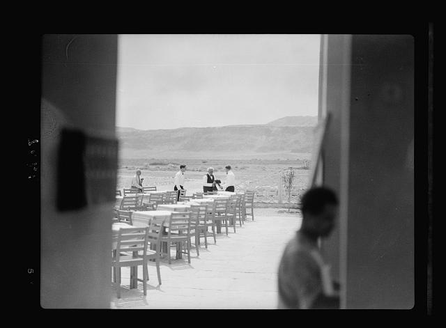 Dead Sea Kallia Hotel. Toscanini on lower terrace