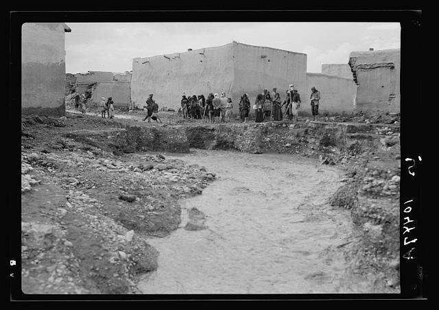 Syrian floods, Nov. 2, 1937