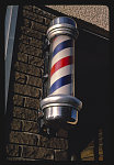 Barber pole (manufactured by the Marvy Company), Minneapolis, Minnesota