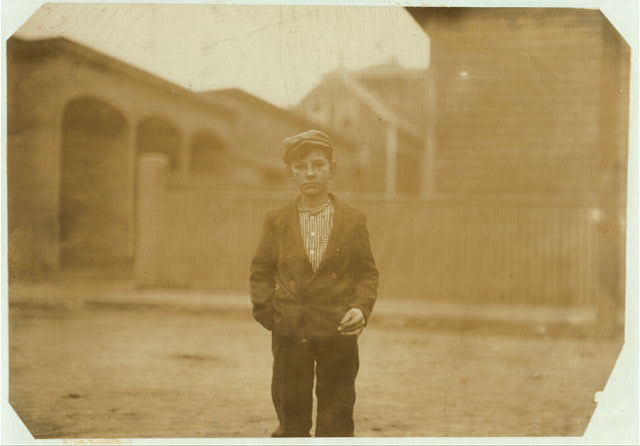 Alfred Corriveau, 14 Perkins St., works in Spinning Room #2, fifth floor.  Location: Salem, Massachusetts.