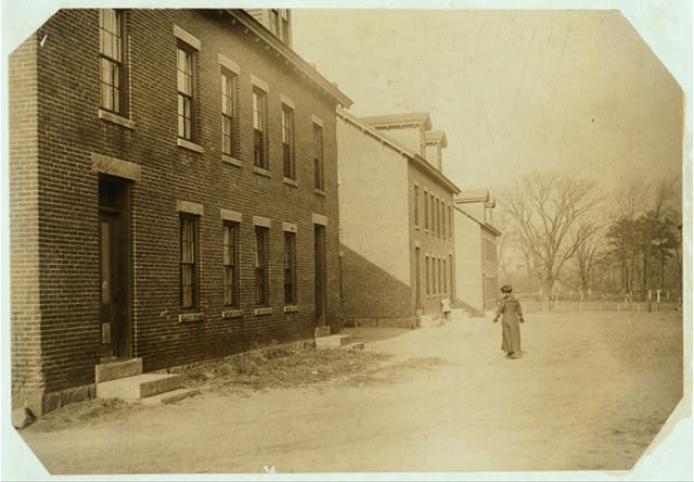 (For Child Welfare Exhibit 1912-1913.) Housing conditions, Lonsdale, R.I.  Location: Lonsdale, Rhode Island.